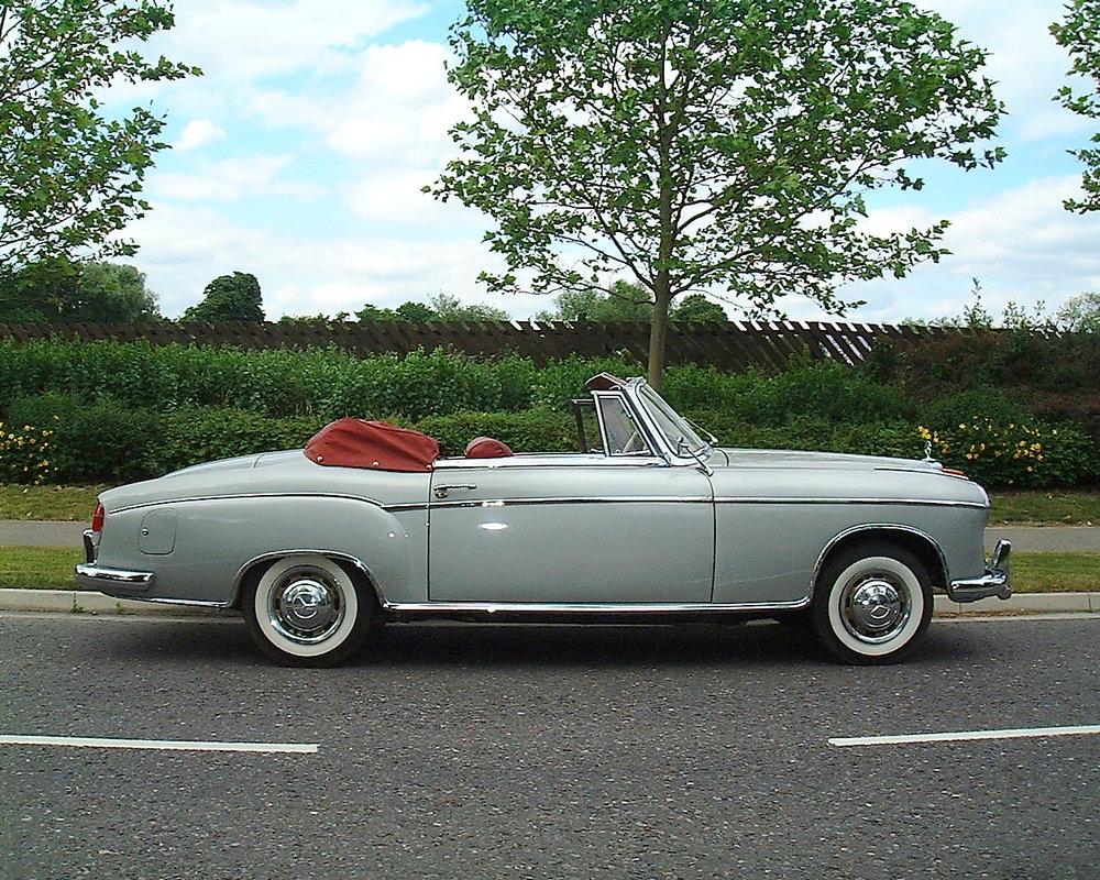 1961 Mercedes-Benz 220S Cabriolet