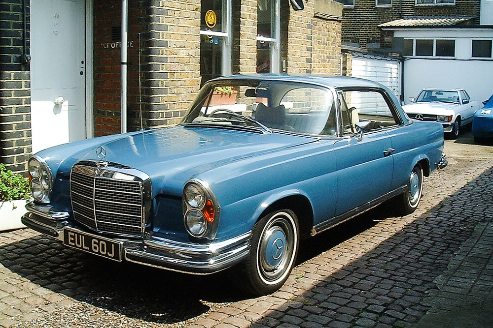 1968 Mercedes-Benz 280SE 3.5 Coupe Prototype