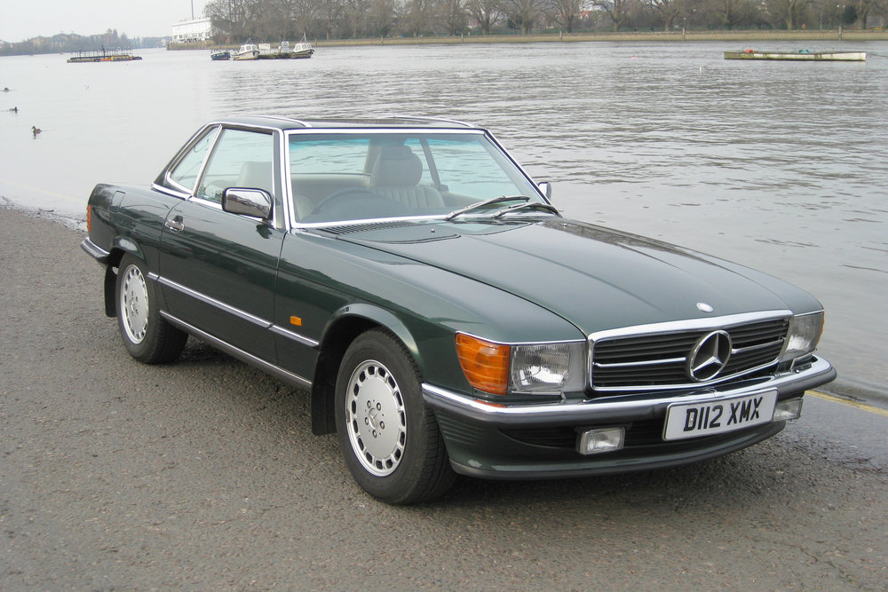 1986 Mercedes-Benz 420SL
