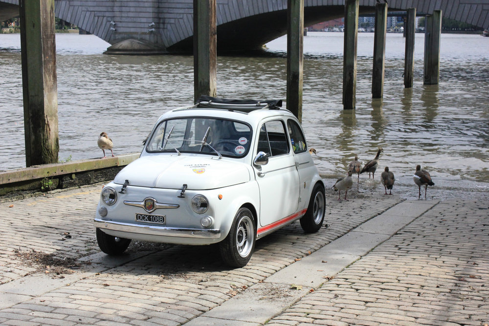 1964 Abarth 500D/595SS