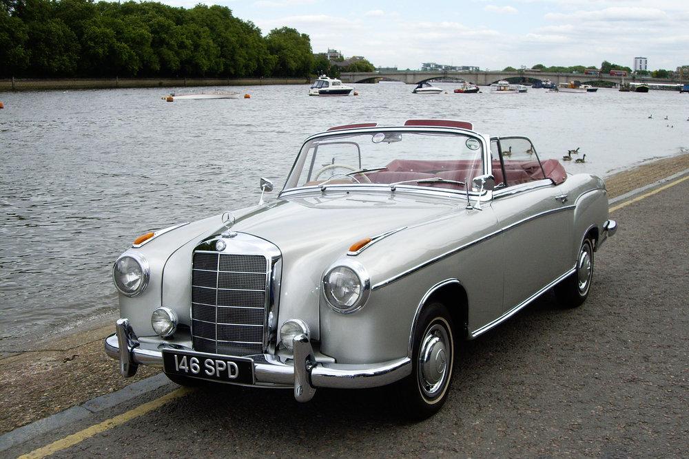 1960 Mercedes-Benz 220S Ponton