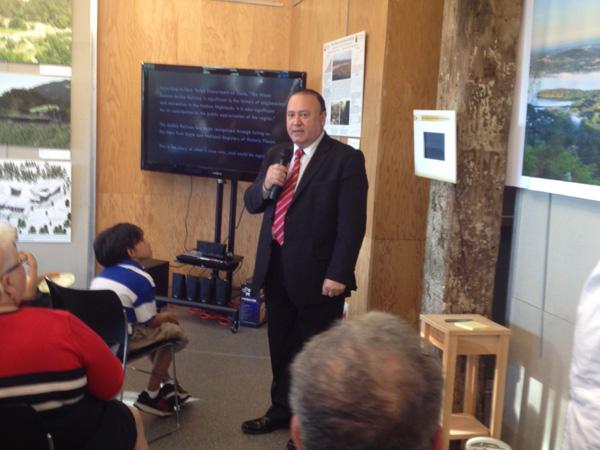 Assemblyman Frank Skartados speaks