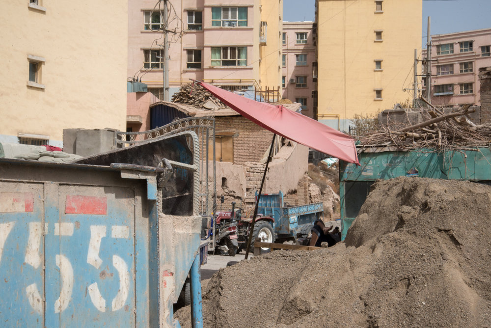 Kashgar Construction Site