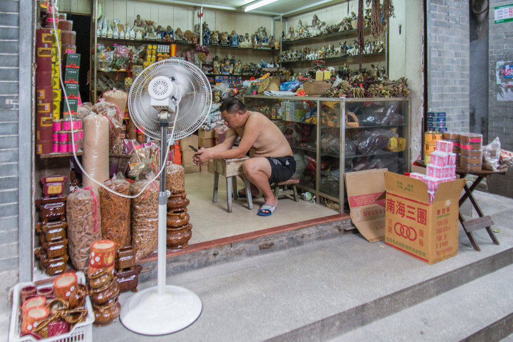 Buddhist Offering Shop