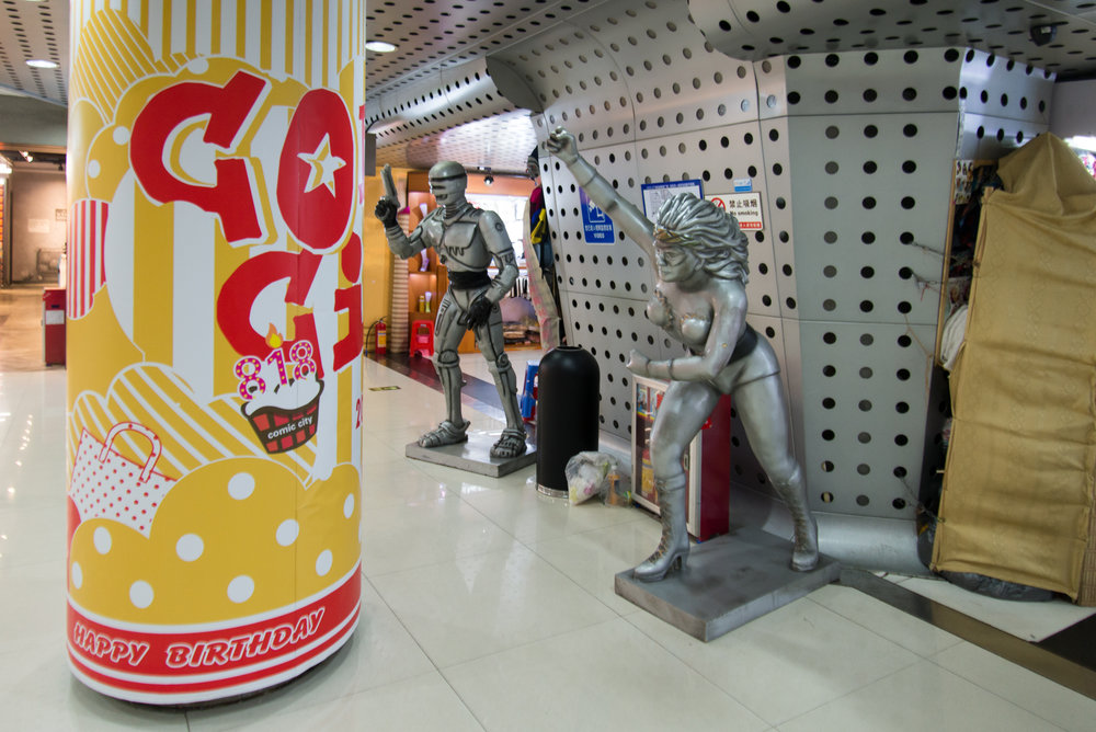 Metro Station super heroes