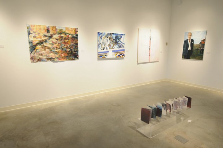 Installation shot within group show.