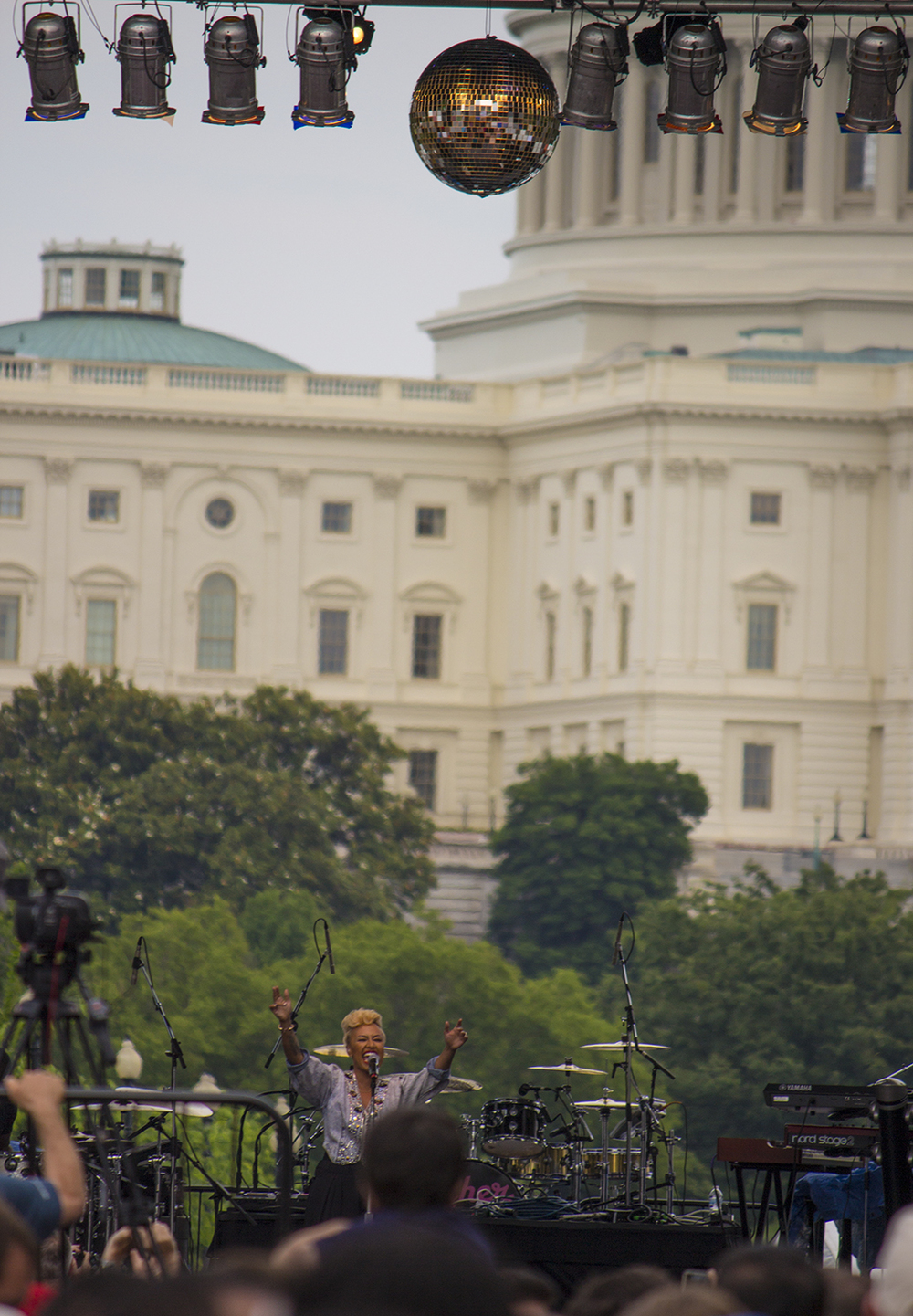 Emeli Sandé at   Washington D.C. Capital Pride, 2013