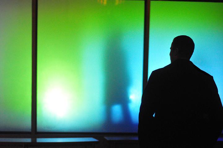 Project 2012.001r  Light and Video Installation Artisphere - Arlington, Virginia 2012