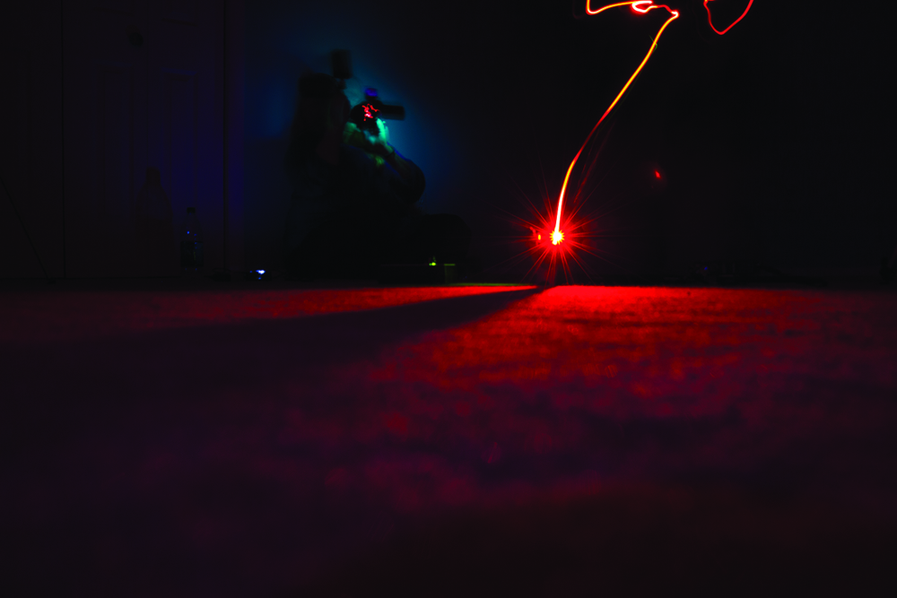 Home - Ghost Light Line VII  Digital Photograph 2014