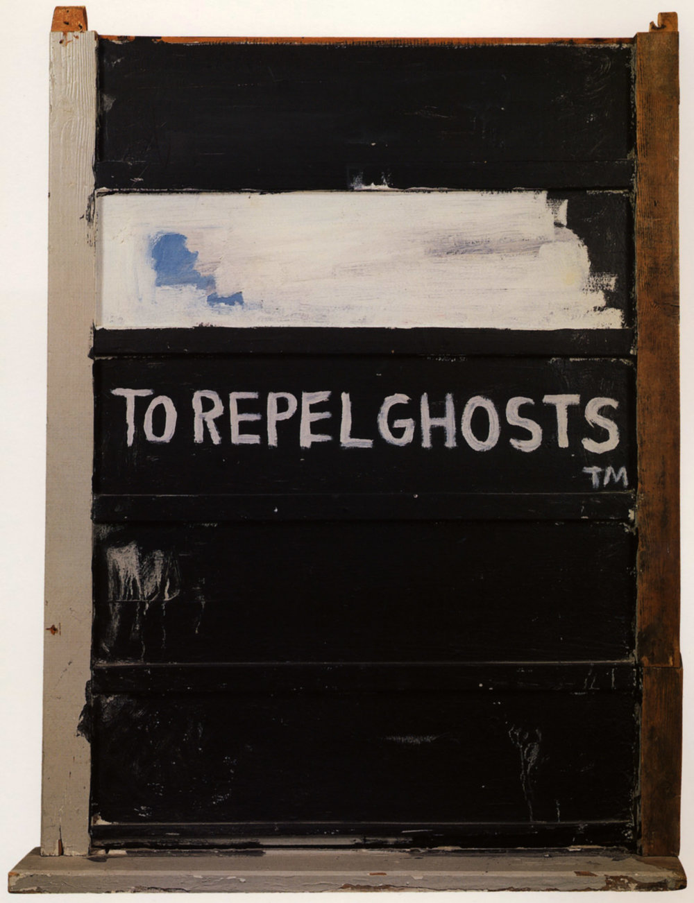 Jean-Michel Basquiat  To Repel Ghosts.  1986