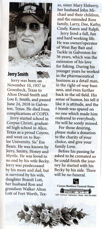 06/24/18 - Jerry Smieth