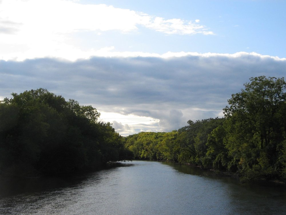 Heed, for example, the siren song of the Kishwaukee River, enticing you to Get Outside, Get Healthy.