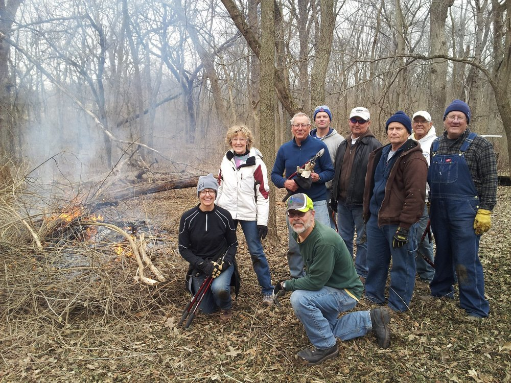 Join our Conservation Crew and help us restore the land at Severson Dells. -