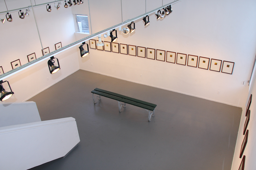 Installation view,  A Range, Arranged , 2011