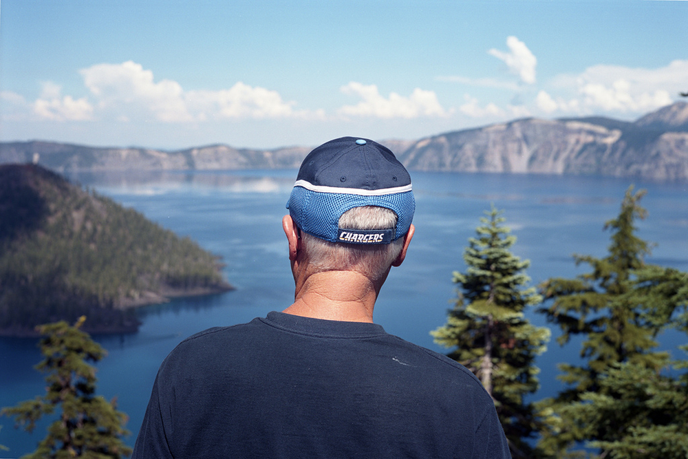 Crater Lake, OR  Chromogenic Print, 2012