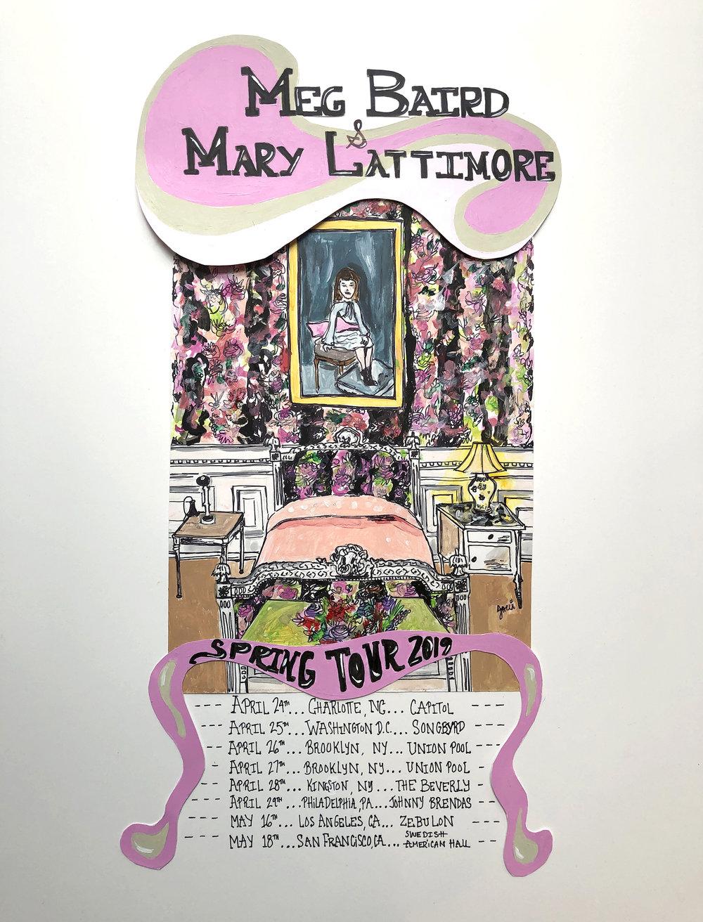 Mary Lattimore & Meg Baird Live @ Capitol - April 24th