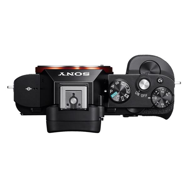 Sony A7R - TOP VIEW