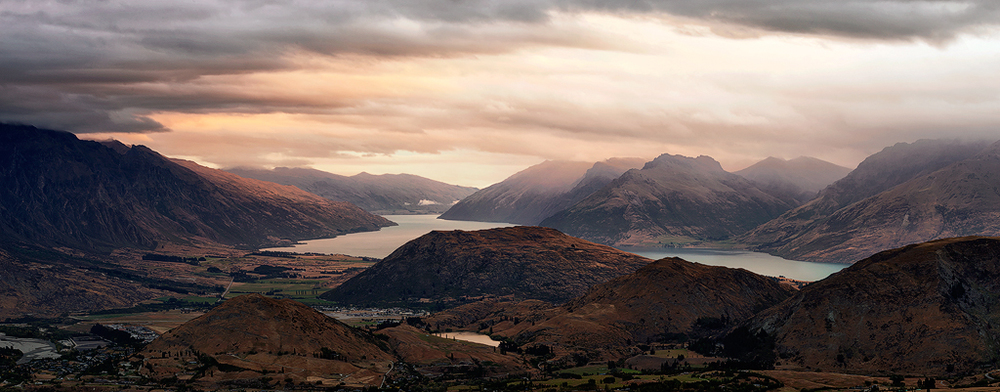 Coronet Peak Sunset
