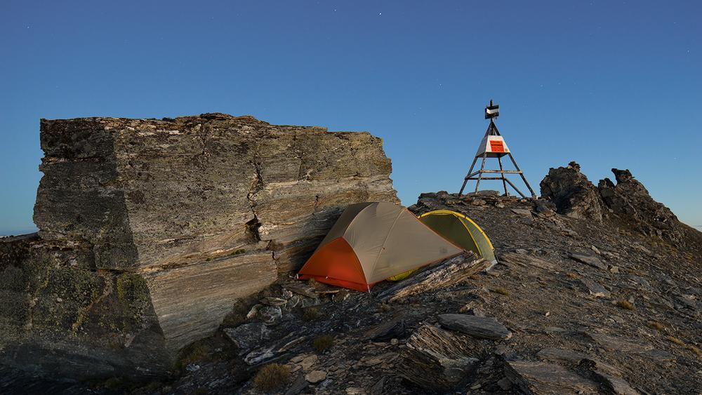 Tent nice and snug