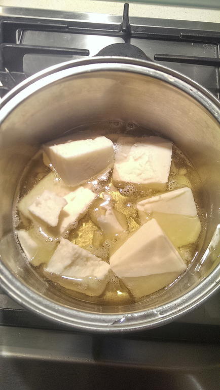 Melting the tallow