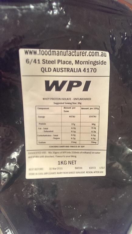 90% WPI Protein Powder