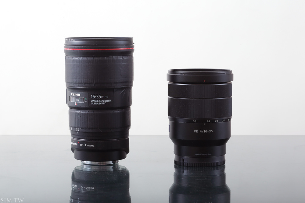 Canon 16-35mm f/4 vs Sony 16-35mm f/4