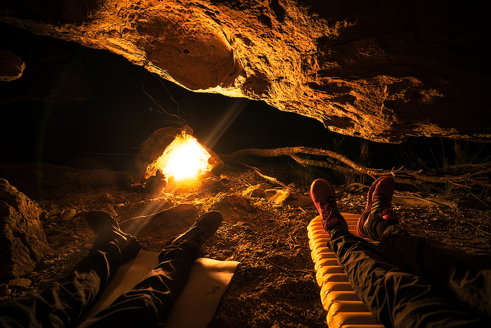 Foam & Thermarest Xlite - Cave on The Castle
