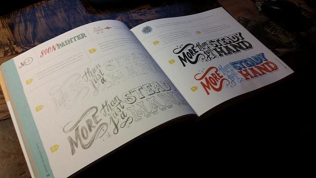 Hand-Lettering Ledger: A book my friend Kaitlynn gave to me that's full of Typography reference.