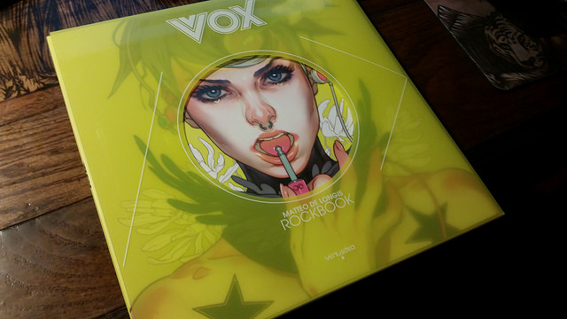 Vox Art/Music book by Matt De Longis