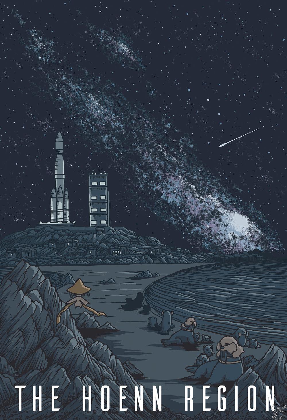 The Hoenn Region - Pokemon Travel Poster.jpg
