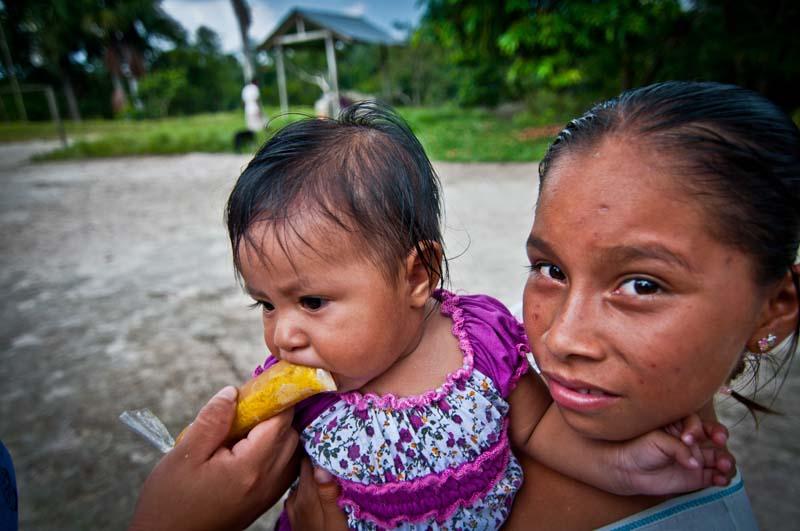 Children of san pedro de nanay