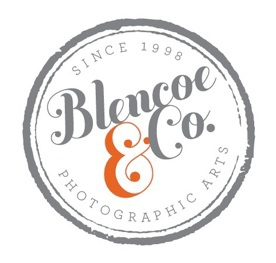 blencoe & co. photographic arts logo | branding via misspicklespress.com