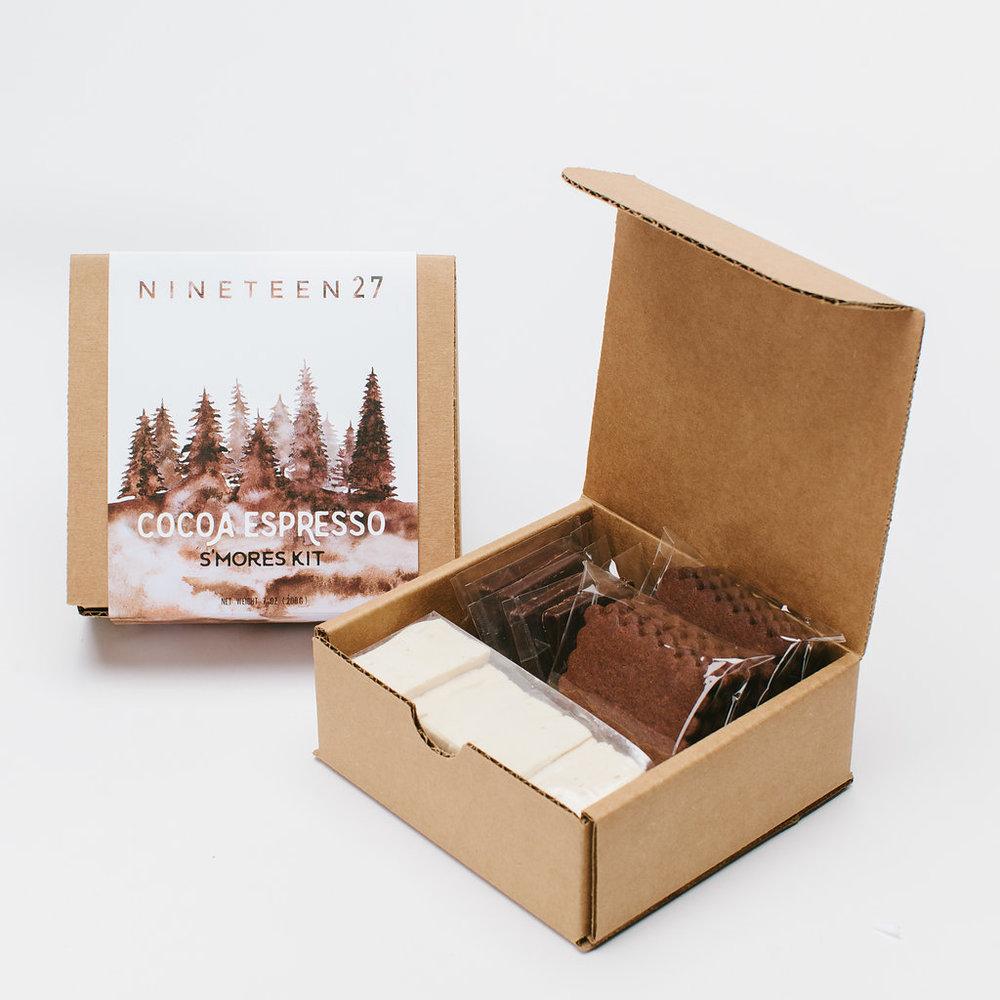 COCOA ESPRESSO - cocoa grahamsespresso mallowsbittersweet chocolate squares$11.50
