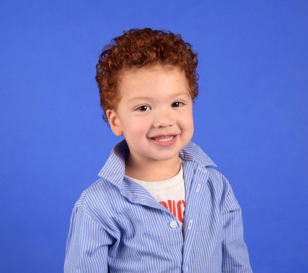 Devin, age 3