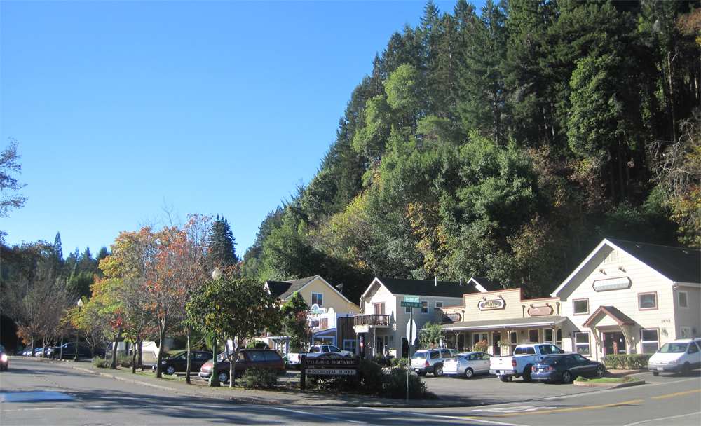 downtown occidental