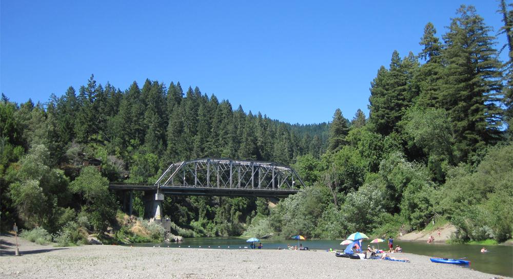 Hacienda Bridge and Beach - Forestville