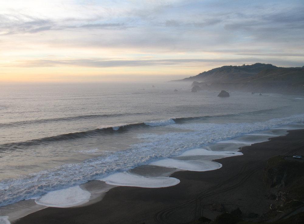 Sunset at Goat Rock Beach, Jenner