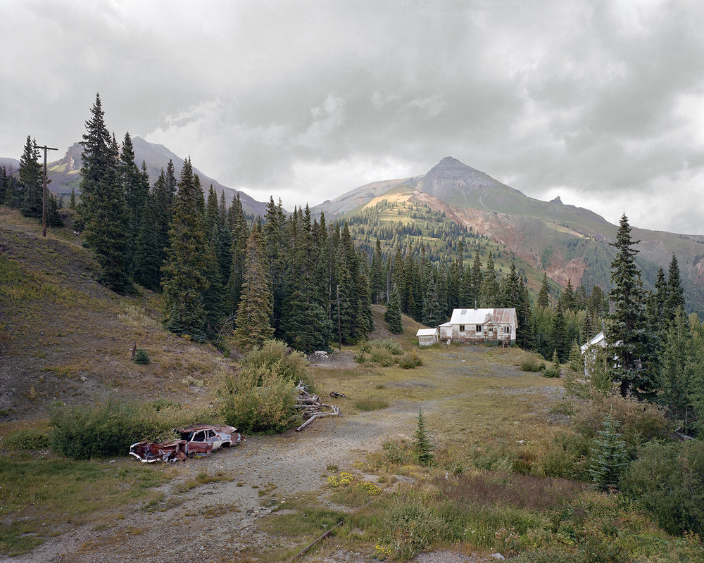 Abandoned Homestead, Red Mountain Mining District, Colorado, 2011