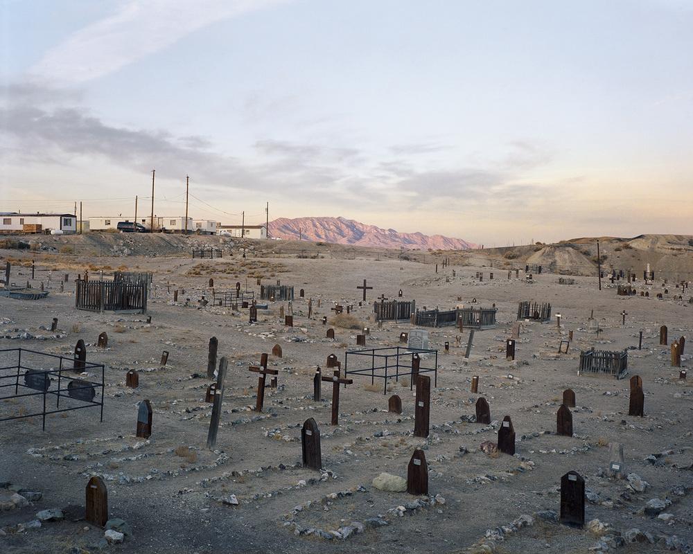Cemetery, Tonopah, Nevada, 2012