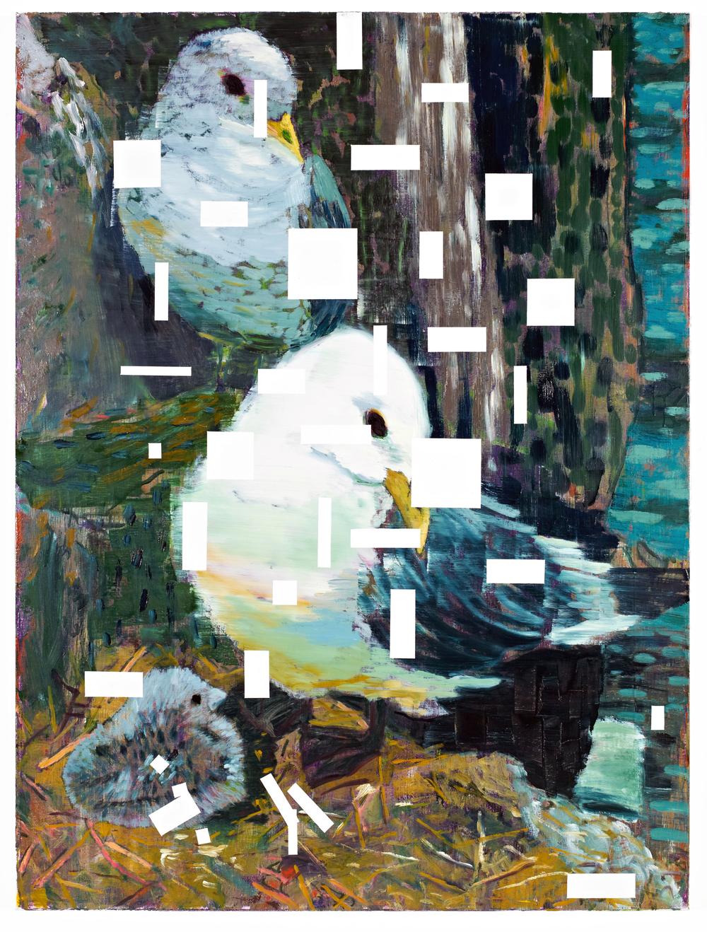 "Jered Sprecher |  Memory Device , 40""x30"", 2012"