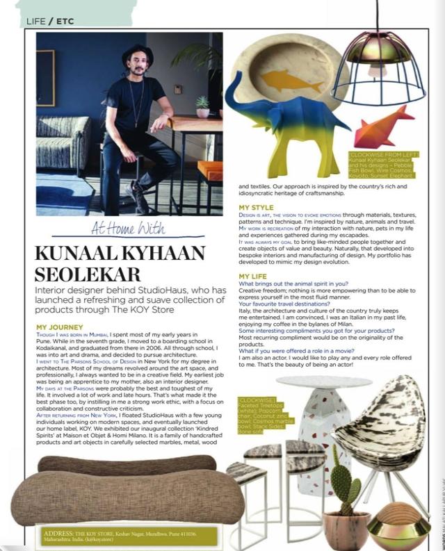 Living Etc | Life Etc |  Kunaal Kyhaan Seolekar  |  KOY