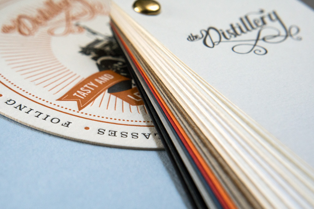 Business Card Sample Pack — The Distillery