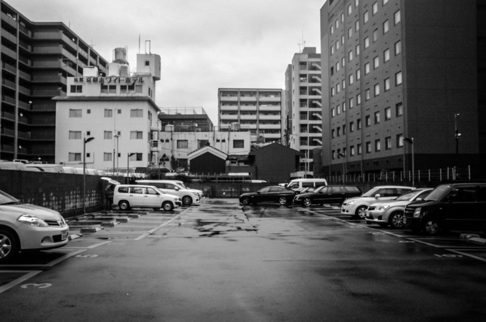 Parking Lot, Kyoto.