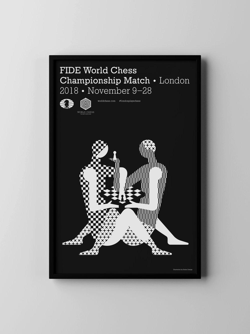 Логотип чемпионата мира по шахматам становится темой дня. В мире. - Попробуем написать текст на русском!commodo tellus risus, non commodo risus imperdiet.Learn more ➝