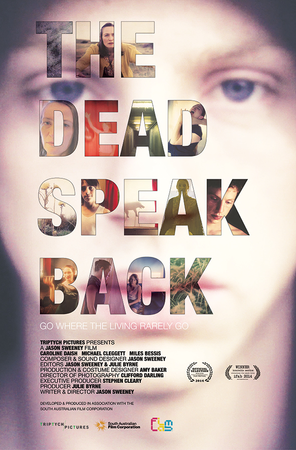 Our dear friend and colleague, Jason Sweeney (yes, he of TEDPrize fame amongst many, many other good things), (#isthereanyonemoreprolific?? #Idon'tthinkso...), well his film, The Dead Speak Back, is screening TOMORROW NIGHT, Sunday 14 September, 7pm, at The Backlot Studios as part of the 2014 Melbourne Underground Film Festival. TIX HERE. Do go and get your fill, 78 minutes of sonically charged experimental cinema! And there's a bit of Zalumma Agra in there, too, via Panoptique Electrical.