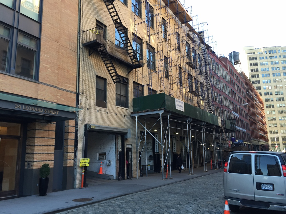 Leonard Street, NYC