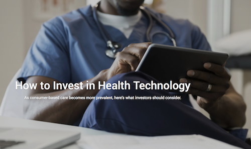 US News and World Report How to Invest in Health Technology