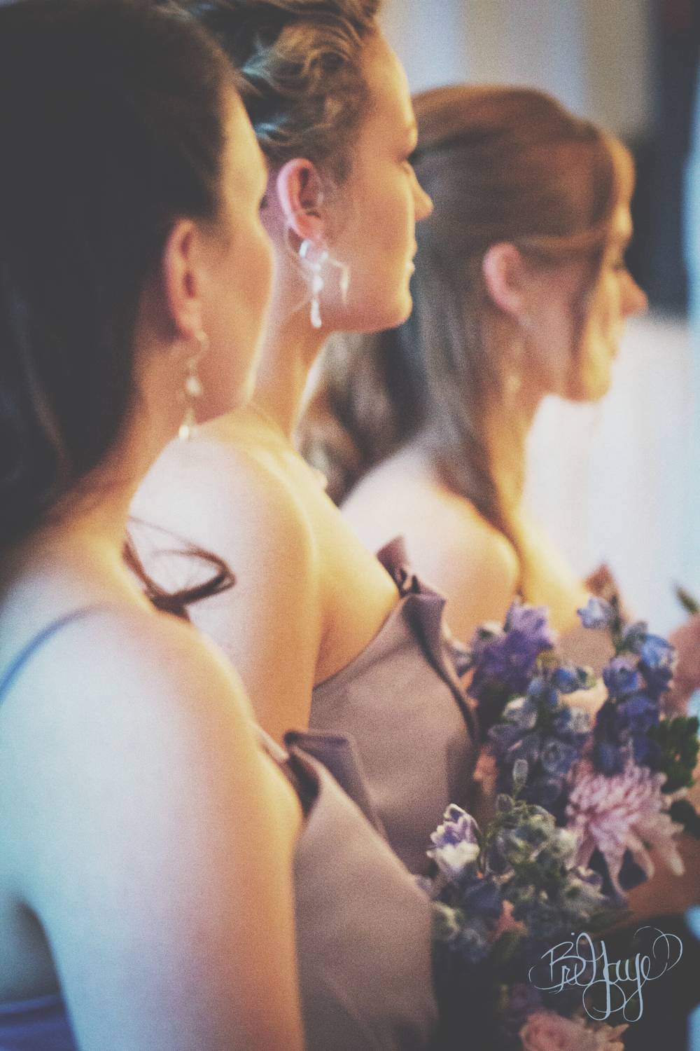 Romantic Portrait Bridesmaids