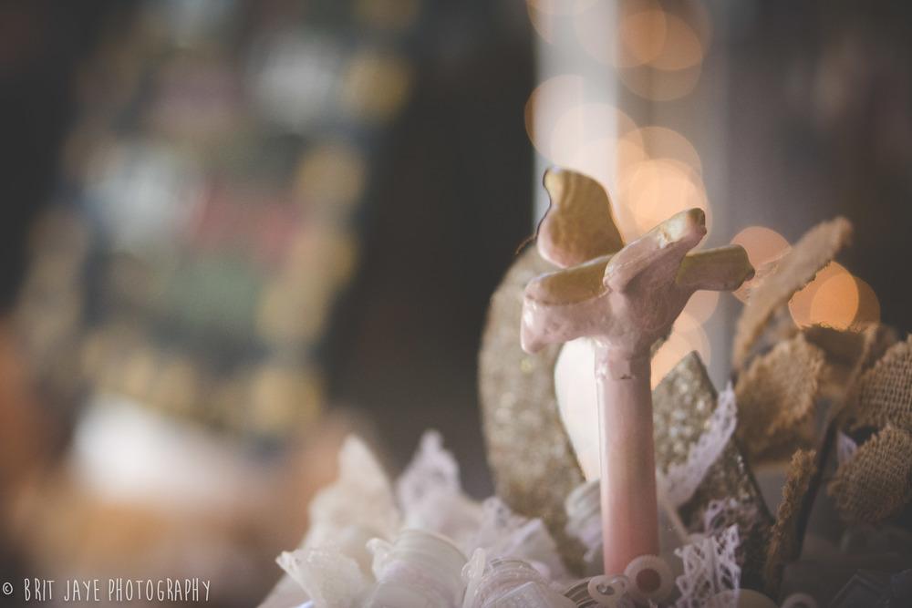 Rustic Wedding Bird Detail