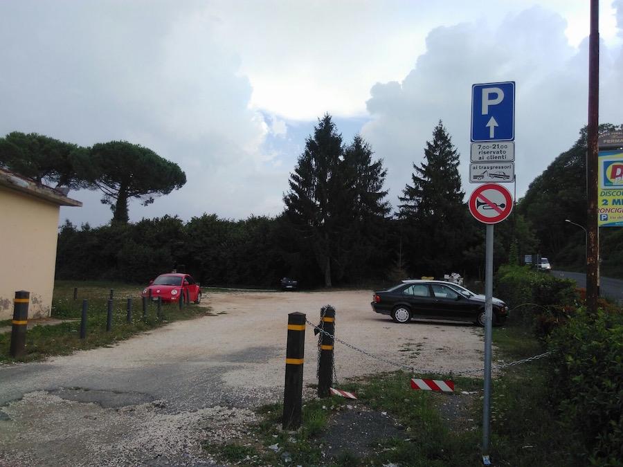 Parcheggio/Area Camper